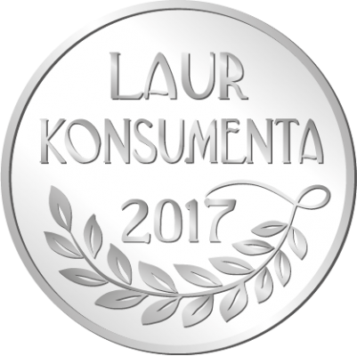 'LAUR KONSUMENTA' SILVER PRIZE FOR PROLINE IN 2017